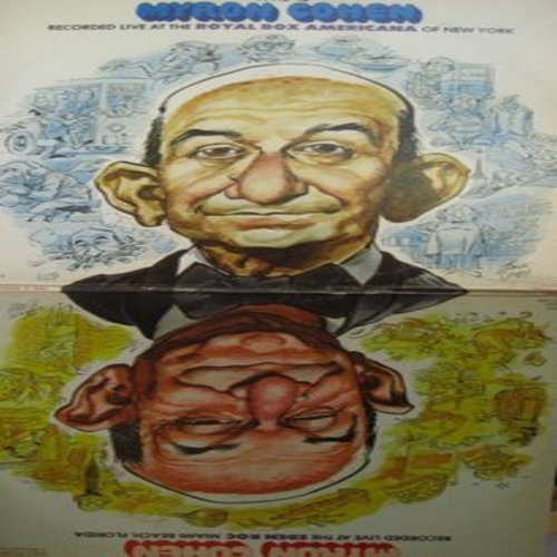 Cohen, Myron - This Is Myron Cohen: 2 vinyl STEREO LP records in gate-fold cover, comedy routines recorded LIVE in Miami and New York. - NM9/EX8 - LP Records