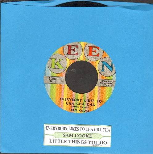 Cooke, Sam - Everybody Loves To Cha Cha Cha/Little Things You Do (with juke box label) - EX8/ - 45 rpm Records