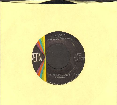 Cooke, Sam - There, I've Said It Again/One Hour Ahead Of The Posse - EX8/ - 45 rpm Records