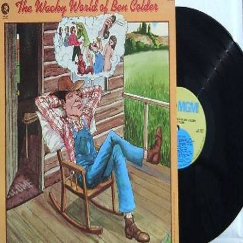 Colder, Ben - The Wacky World Of Ben Colder: The Bottomless Topless Beach, The Unhappiest Squirrel In The Whole U.S.A., Moontan, Glossy 8X10 (Vinyl STEREO LP record) - NM9/NM9 - LP Records