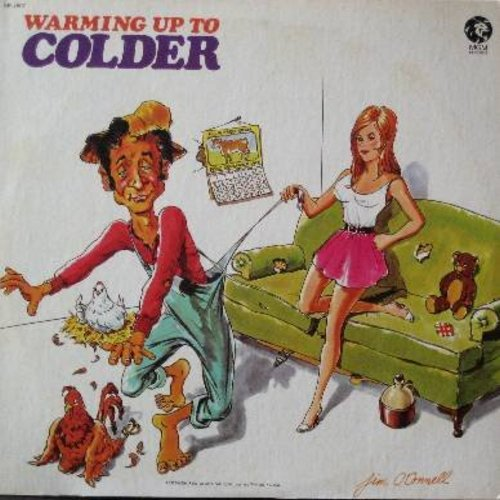Colder, Ben - Warming Up To Colder: Runnin' Bare (Running Bear), Rosie's Garden, Help Me Fake It Through The Night, Splits, Cold Cold Heart #2 (Vinyl STEREO LP record) - NM9/EX8 - LP Records