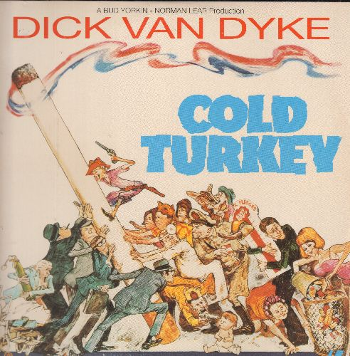 Cold Turkey - Cold Turkey - LASER DISC version of the Norman Lear Comedy Classic starring Dick Van Dyke. (This is a LASER DISC, not any other kind of media!) - NM9/NM9 - LaserDiscs