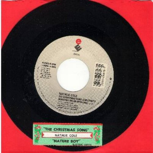 Cole, Natalie - The Christmas Song/Nature Boy (with juke box label) - NM9/ - 45 rpm Records