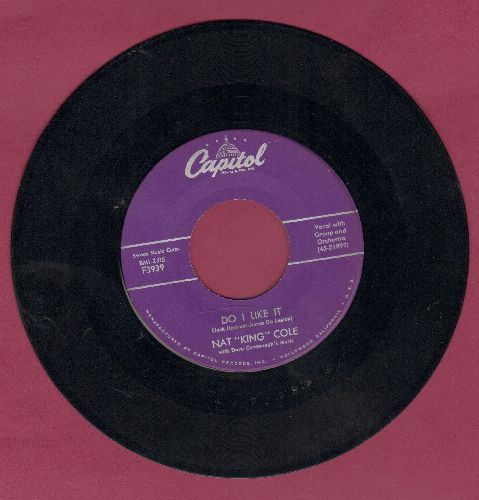 Cole, Nat King - Do I Like It (Yes I Do)/Looking Back - EX8/ - 45 rpm Records