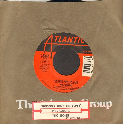 Collins, Phil - A Groovy Kind Of Love/Big Noise (with juke box label and Atlantic company sleeve) - NM9/ - 45 rpm Records