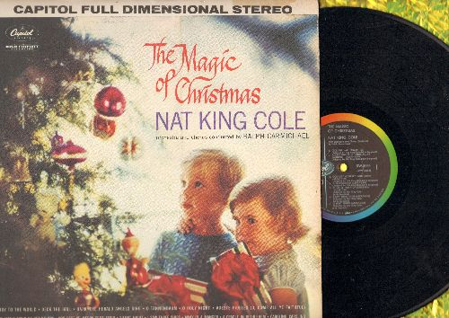 Cole, Nat King - The Magic Of Christmas: Joy To The World, O Tannenbaum, Silent Night, Away In A Manger (vinyl STEREO LP record) - NM9/EX8 - LP Records