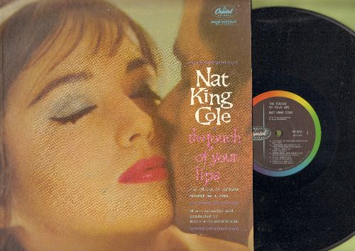 Cole, Nat King - The Touch Of Your Lips: I Remember You, Funny, Sunday Monday And Always, Only Forever (vinyl MONO LP record) - NM9/EX8 - LP Records