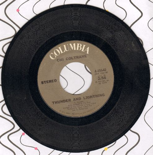 Coltrane, Chi - Thunder And Lightning/Time To Come In - EX8/ - 45 rpm Records