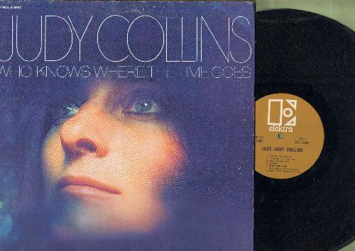 Collins, Judy - Who Knows Where The Time Goes: Pretty Polly, Poor Immigrant, My Father, First Boy I Loved (vinyl STEREO LP record, gate-fold cover) - NM9/EX8 - LP Records
