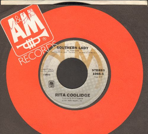 Coolidge, Rita - Southern Lady/We're All Alone (with A&M company sleeve) - NM9/ - 45 rpm Records