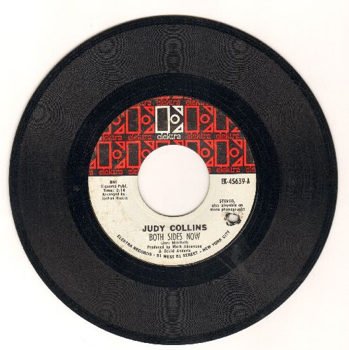 Collins, Judy - Both Sides Now/Who Knows Where The Time Goes (bb) - EX8/ - 45 rpm Records