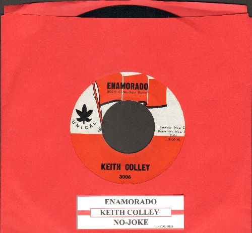 Colley, Keith - Enamorado/No-Joke (with juke box label) - NM9/ - 45 rpm Records