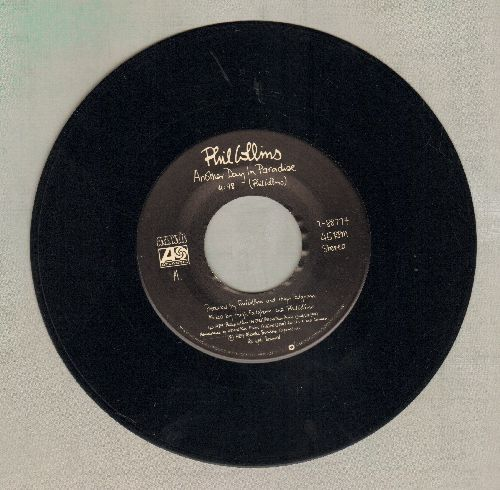 Collins, Phil - Another Day In Paradise/Heat On The Sheet  - VG7/ - 45 rpm Records