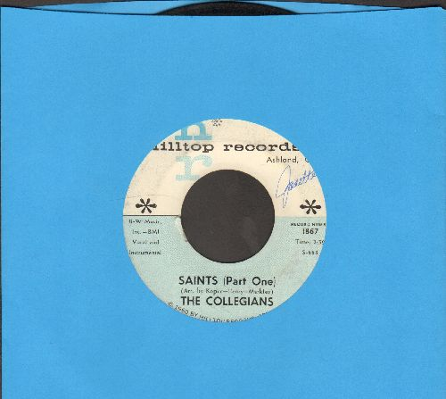 Collegians - Saints (Parts 1 + 2) - VG7/ - 45 rpm Records