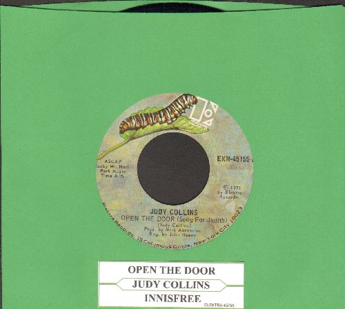Collins, Judy - Open The Door (Song For Judith)/Innisfree (with juke box label) - NM9/ - 45 rpm Records