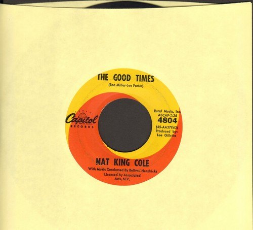 Cole, Nat King - Ramblin' Rose/The Good Times (FANTASTIC overlooked flip-side!)  - EX8/ - 45 rpm Records