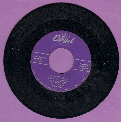 Cole, Nat King - My Dream Sonata/That's All There Is To That  - EX8/ - 45 rpm Records