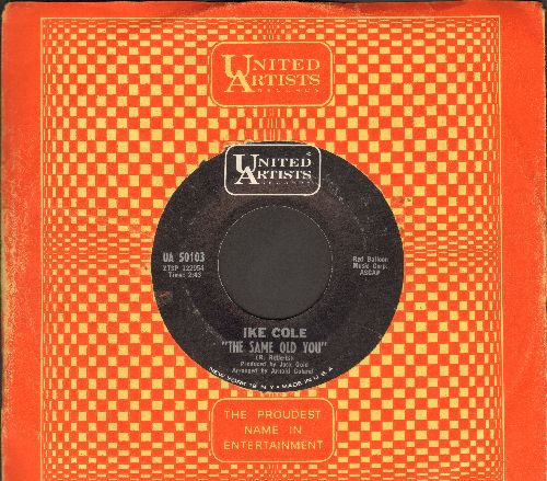 Cole, Ike - The Wishing Doll/The Same Old You (with vintage United Artists company sleeve) - NM9/ - 45 rpm Records