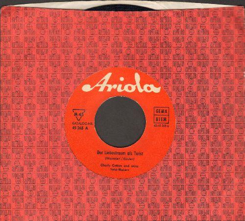 Cotton, Charlie und seine Twist-Makers - Dear Liebestraum als Twist/Telefon-Twist (German Pressing with company sleeve, sung in German) - EX8/ - 45 rpm Records