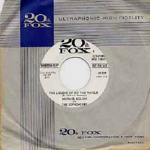 Coldin, Michael & The Sophomores - The Legend Of Rip Van Winkle/Roll Out The Green Carpet, Mr. Springtime (DJ advance copy with 20th Fox company sleeve) - NM9/ - 45 rpm Records