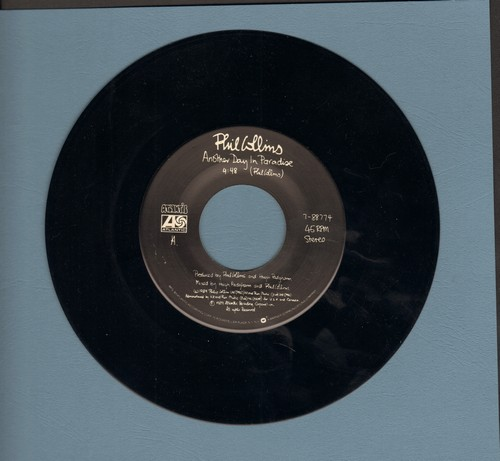 Collins, Phil - Another Day In Paradise/Heat On The Sheet  - NM9/ - 45 rpm Records