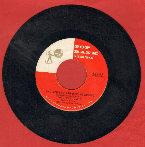 Collins, Dorothy - Baciare Baciare (Kissing Kissing)/In The Good Old Days - NM9/ - 45 rpm Records
