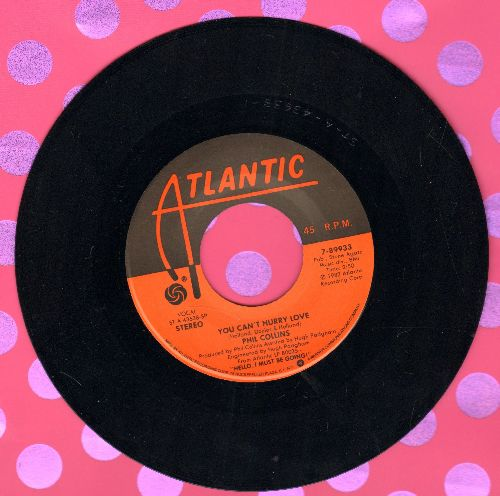 Collins, Phil - You Can't Hurry Love/Do You Know, Do You Care?  - NM9/ - 45 rpm Records