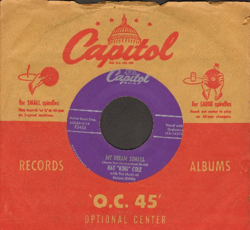 Cole, Nat King - My Dream Sonata/That's All There Is To That (MINT condition with Capitol company sleeve) - M10/ - 45 rpm Records
