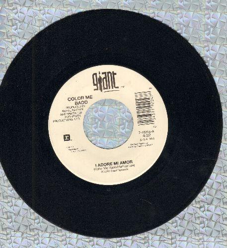 Color Me Badd - I Adore Mi Amor (U.S.A. Mix)/I Adore Mi Amor (International Mix) - NM9/ - 45 rpm Records