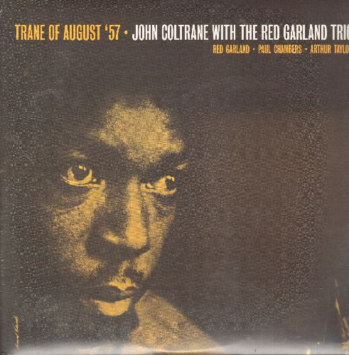 Coltrane, John - Trane of August '57 - John Coltrane With The Red Garland Trio: Traneing In, Slow Dance, Bass Blues, Slowtrane (2009 European Virgin Vinyl re-issue, SEALED, never opened!) - SEALED/SEALED - LP Records