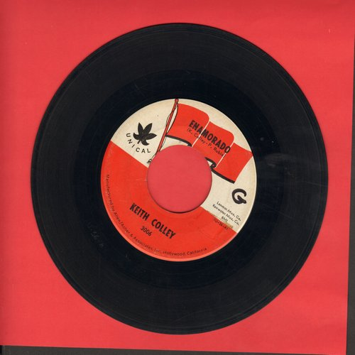 Colley, Keith - Enamorado/No-Joke (FANTASTIC Teen-Idol 2-sider, sung in Spanish and English) - EX8/ - 45 rpm Records