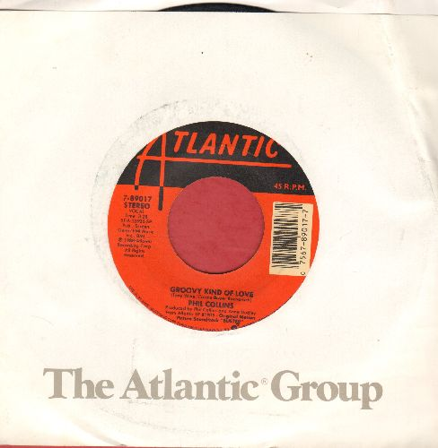 Collins, Phil - A Groovy Kind Of Love/Big Noise (with Atlantic company sleeve) - EX8/ - 45 rpm Records