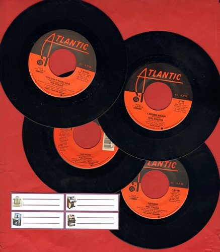 Collins, Phil - Phil Collins 4-Pack: Hits include Missed Again, Groovy Kind Of Love, You Can't Hurry Love and Succudio. Shipped in plain white paper sleeves with 4 blank juke box labels. - NM9/ - 45 rpm Records