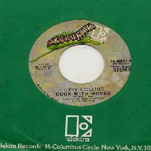 Collins, Judy - Cook With Honey/So Begins The Task (with Elektra company sleeve) - VG7/ - 45 rpm Records