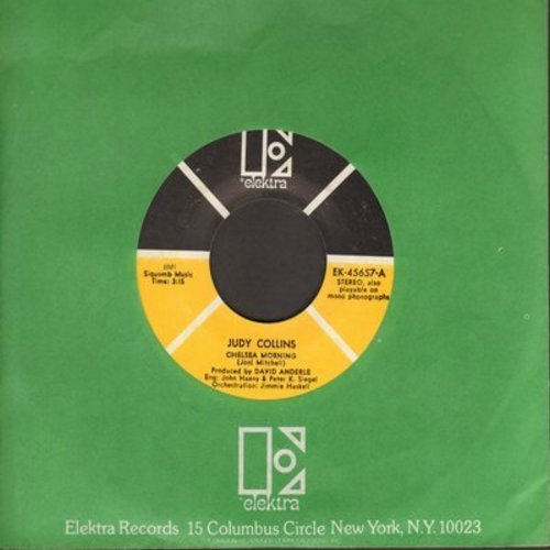 Collins, Judy - Chelsea Morning/Pretty Polly (with Elektra company sleeve) (bb) - NM9/ - 45 rpm Records