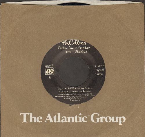 Collins, Phil - Another Day In Paradise/Heat On The Sheet  - EX8/ - 45 rpm Records