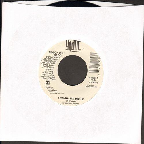 Color Me Badd - I Wanna Sex You Up (Freeze Mix)/I Wanna Sex You Up (Album Version) - EX8/ - 45 rpm Records