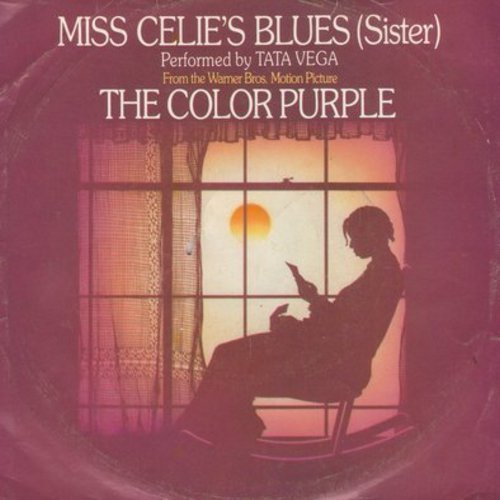 Vega, Tata - Miss Celie's Blues (Sister)//Celie Shaves Mr./Scarification Ceremony (from film -The Color Purple-, with picture sleeve) - NM9/VG7 - 45 rpm Records