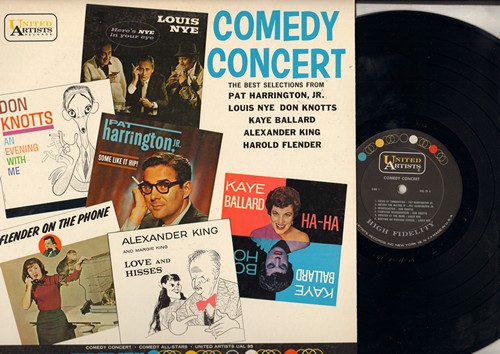 Harrington, Pat, Don Knotts, Haye Ballard, others - Comedy Concert - Best Selections from 1960s Favorite Comedians (Vinyl MONO LP record) - NM9/EX8 - LP Records