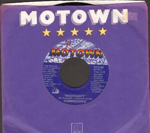 Commodores - Nightshift/I Keep Running (with Motown company sleeve) - NM9/ - 45 rpm Records