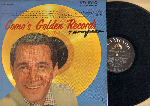 Como, Perry - Como's Golden Records: Temptation, Papa Loves Mambo, Wanted, Round And Round, Magic Moments, Hot Diggity (Vinyl STEREO LP record)(minor woc) - NM9/EX8 - LP Records