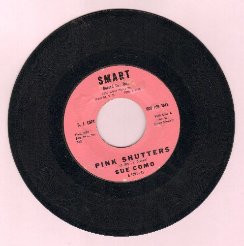 Como, Sue - Pink Shutters/Each Other (DJ advance pressing) - EX8/ - 45 rpm Records