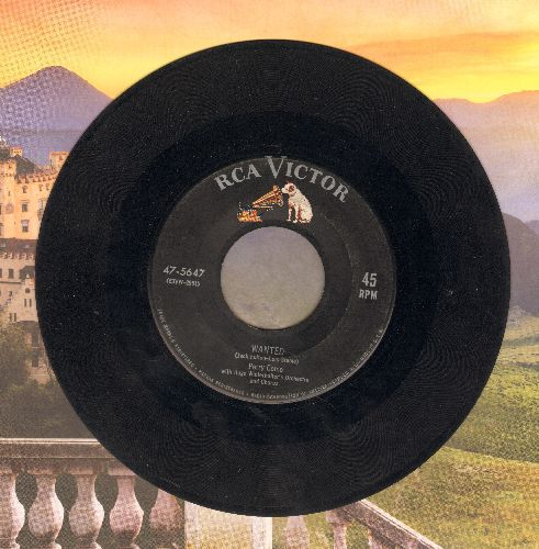 Como, Perry - Wanted/Look Out The Window - VG7/ - 45 rpm Records