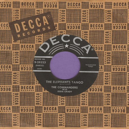 Commanders - The Elephant Tango/Commanders Overture (with Decca company sleeve) - VG7/ - 45 rpm Records