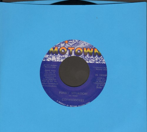 Commodores - Funky Situation/Too Hot To Trot - NM9/ - 45 rpm Records