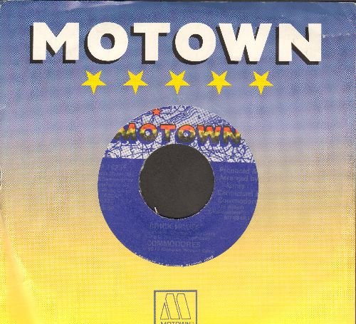 Commodores - Brick House/Captain Quick Draw (with Motown company sleeve) - EX8/ - 45 rpm Records