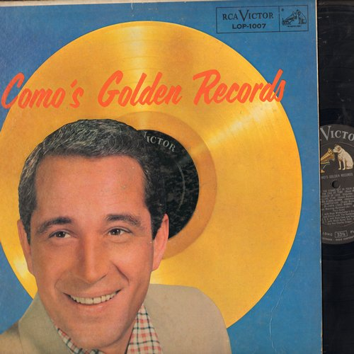 Como, Perry - Como's Golden Records: Temptation, Papa Loves Mambo, Wanted, Round And Round, Magic Moments, Hot Diggity (Vinyl STEREO LP record, 1958 first issue) - NM9/EX8 - LP Records