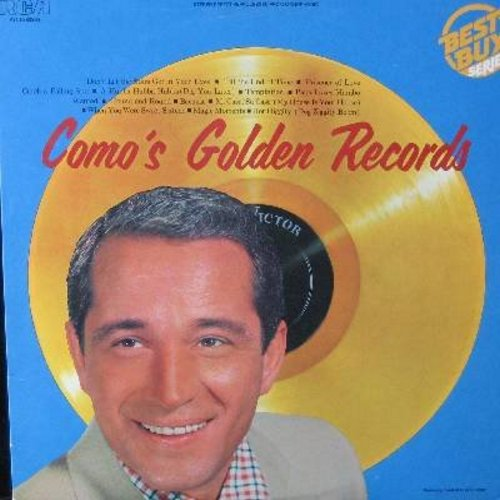 Como, Perry - Como's Golden Records: Temptation, Papa Loves Mambo, Wanted, Round And Round, Magic Moments, Hot Diggity (Vinyl STEREO LP record, 1980s issue of vintage recordings) - M10/NM9 - LP Records