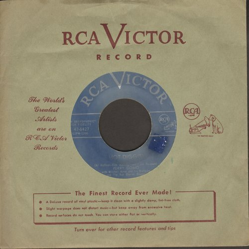 Como, Perry - Hot Diggity/Juke Box Baby (Canadian pressing with vintage RCA company sleeve) - VG7/ - 45 rpm Records