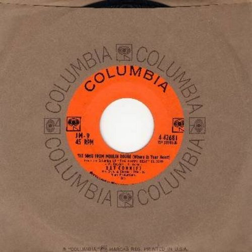Conniff, Ray, His Orchestra & Chorus - The Song From Moulin Rouge (Where Is Your Heart)/Volare (Nel Blu Di Pinto Di Blu) (with Columbia company sleeve) - NM9/ - 45 rpm Records